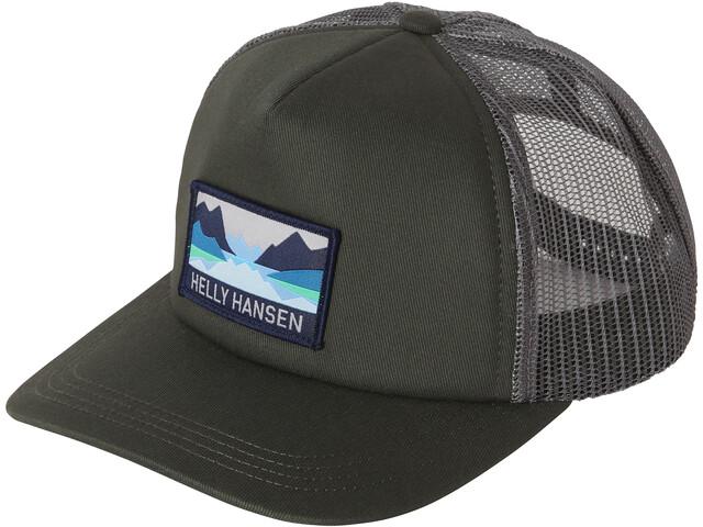 Helly Hansen Trucker Cap, forest night